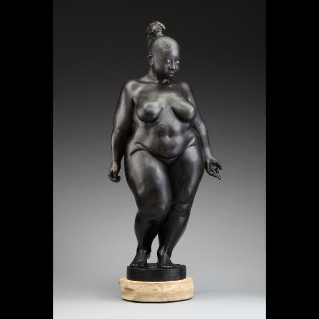 Skulpturer med rigtige kvinder