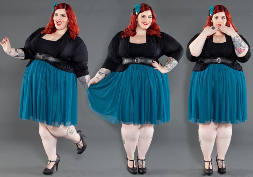 Tess Munster - fra makeupartist til model