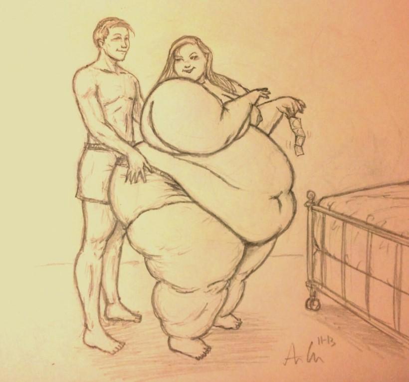 Tykke par (Fat Couples på engelsk)