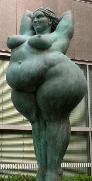 Miriam Lenk - En kunstners rejse i forståelsen af den fede krop.